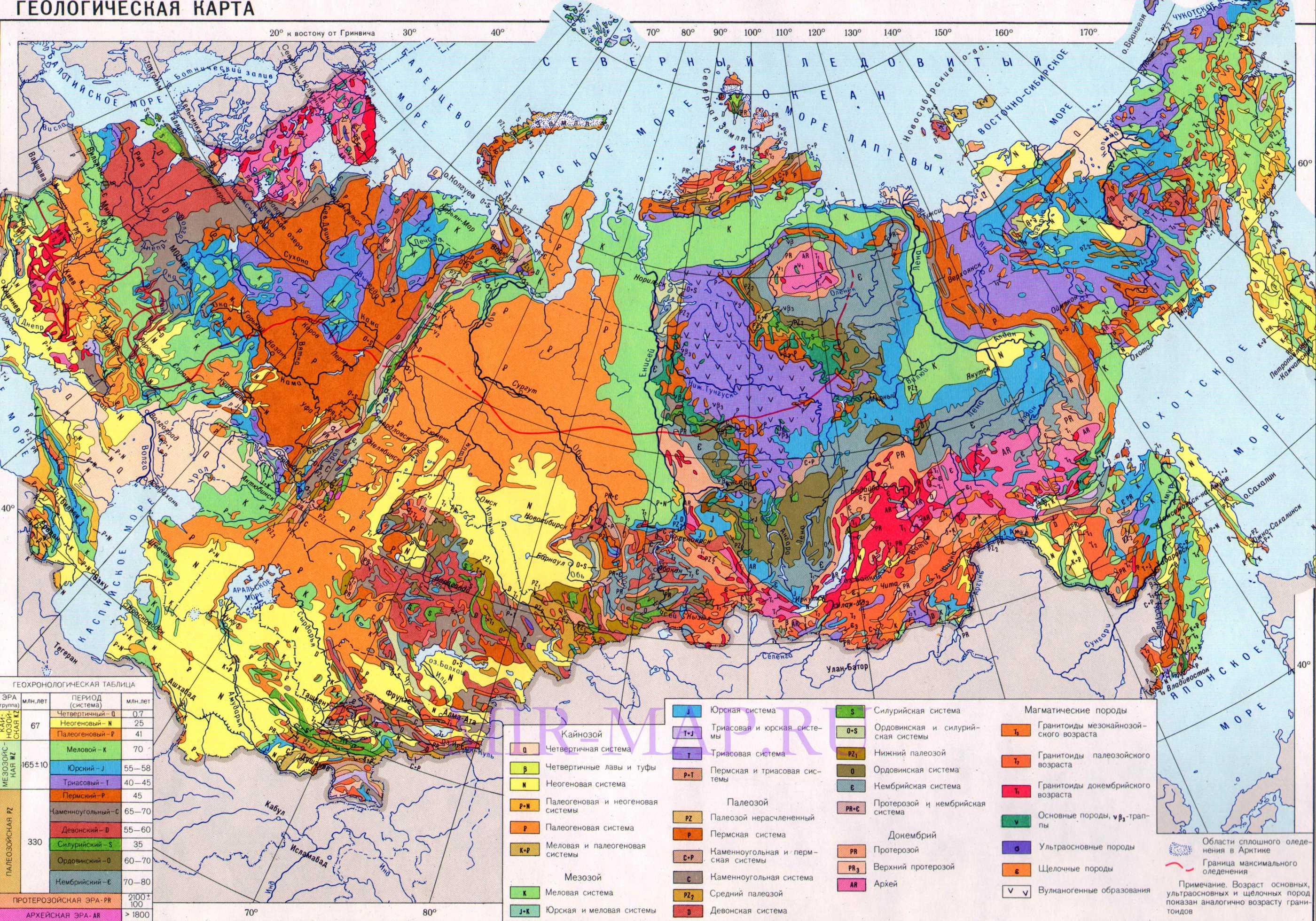 геологические карты россии золото туризм это огромная